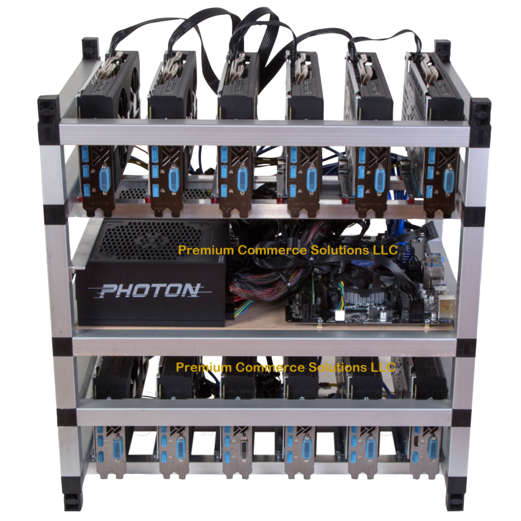 Buy 12 GPU Nvidia Mining Rig Now